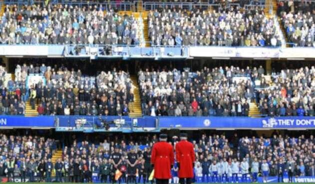 El denominado remembrance day en el Chelsea vs Everton