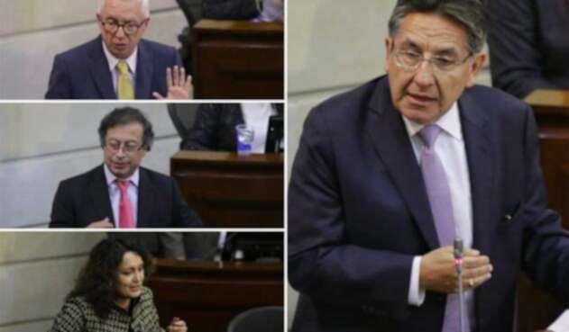 Robledo, Petro, Lozano Vs. Martínez, la intensa pelea por Odebrecht