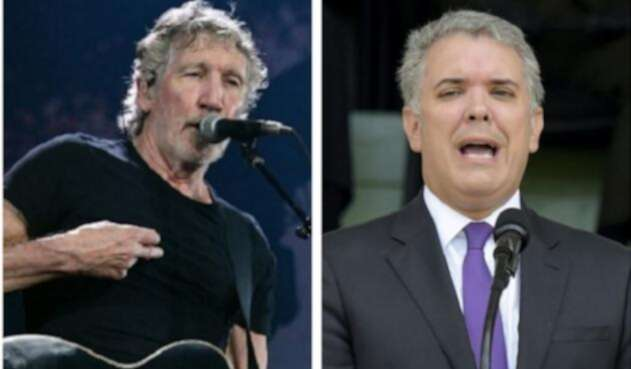 Roger Waters e Iván Duque