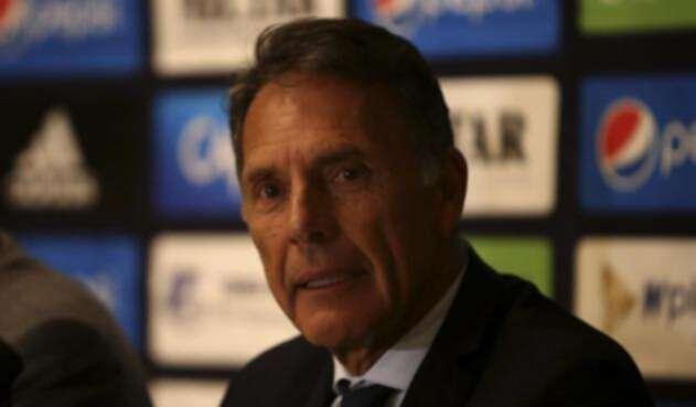 Miguel Ángel Russo, rueda de prensa
