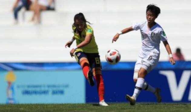 Selección Colombia Femenina empató ante Corea del Sur /@FIFAcom