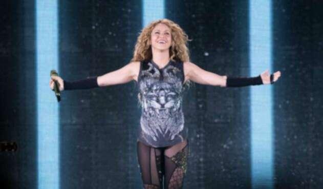 Shakira en su gira El Dorado World Tour
