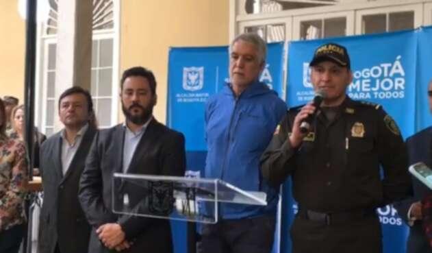 General Hoover Penilla, comandante de la Policía Metropolitana  de Bogotá