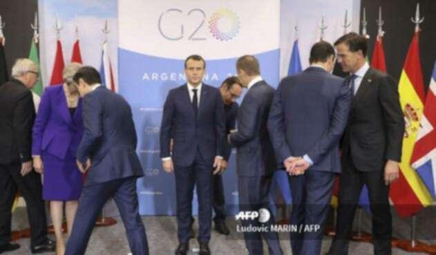 Tembló en Cumbre G20