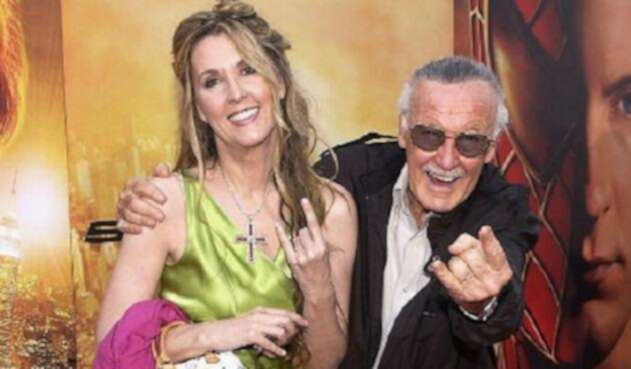 Stan Lee y Joan Celia Lee