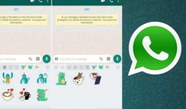Los stickers de WhatsApp se pueden personalizar