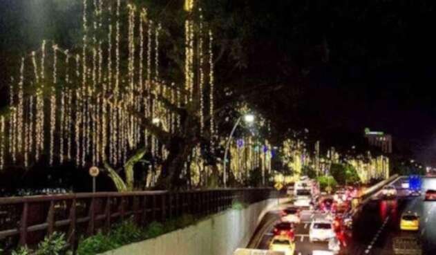 """Desde el 7 de diciembre se encenderá el alumbrado navideño """"Cali a ritmo de Navidad"""", en el cual se invirtieron 12 mil millones de pesos."""
