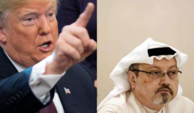 """Trump Dice que príncipe saudí """"podría"""" haber sabido del asesinato de Khashoggi."""