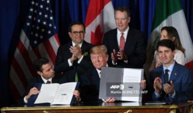 EEUU, México y Canadá suscriben nuevo acuerdo comercial