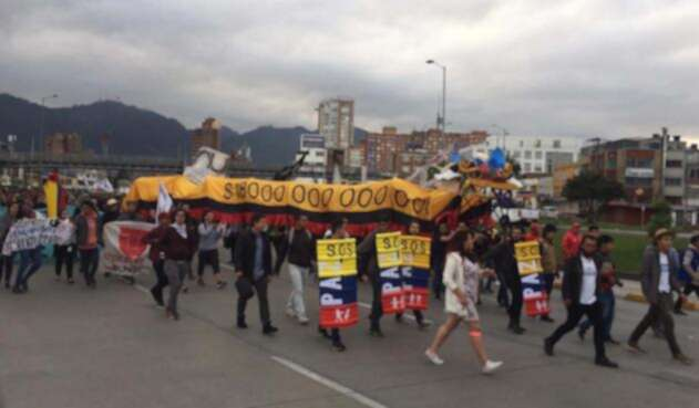 Marchas Universidad Nacional