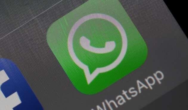 Imagen de la aplicación Whatsapp en un dispositivo móvil