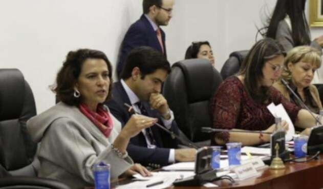 Ministra Nancy Patricia Gutiérrez en la Cámara