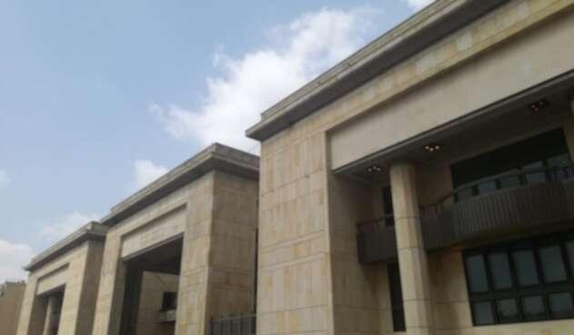 Palacio de Justicia, en el centro de Bogotá