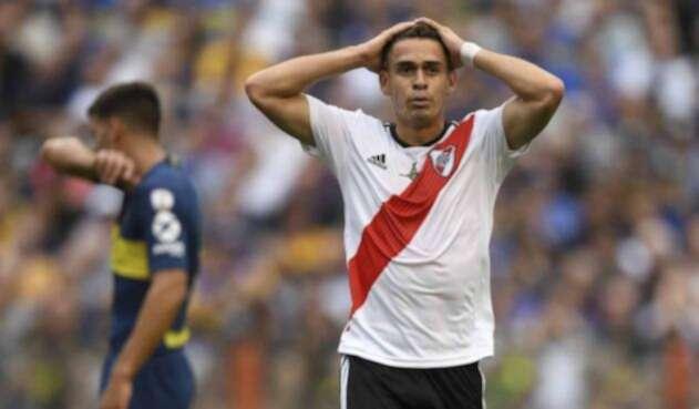 Rafael Santos Borré, delantero de River Plate