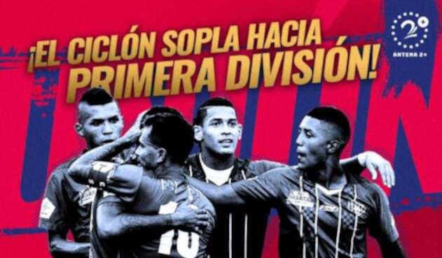 Unión Magdalena regresa a primera división