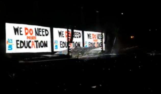 Roger Waters pide más educación