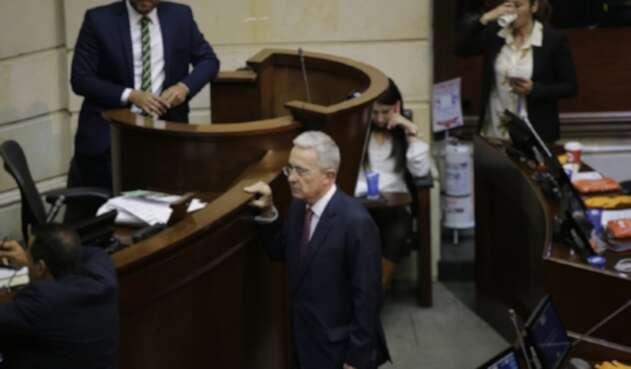 Exsenador Álvaro Uribe Vélez