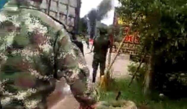Asonada en el municipio de Tibú por incautación de combustible de contrabando