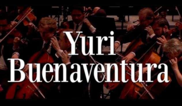 Imagen promocional de la presentación de Yuri Buenaventura con la Orquesta Sinfónica Nacional de Colombia