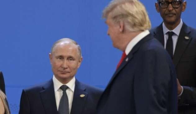 Presidente Trump y Putin