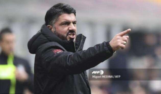 El técnico italiano Gennaro Gattuso