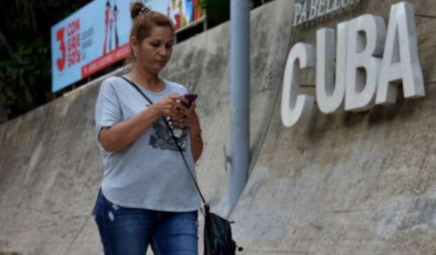 Internet en los celulares en Cuba