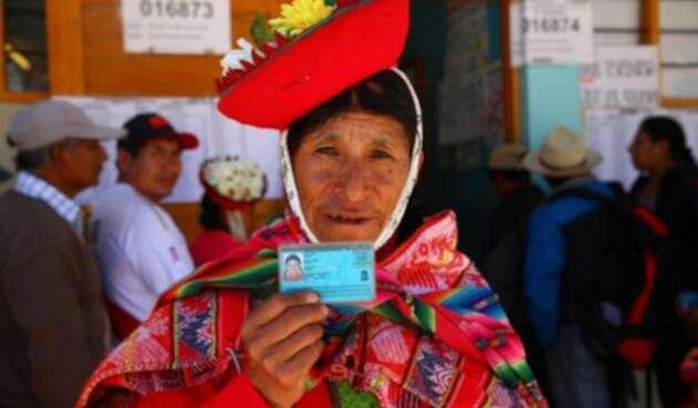 En las elecciones, Perú le dijo Sí al referendo contra la corrupción.