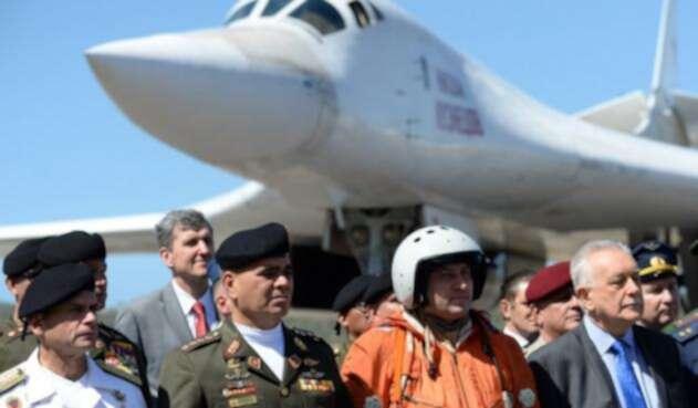 Avion militar Rusia Venezuela