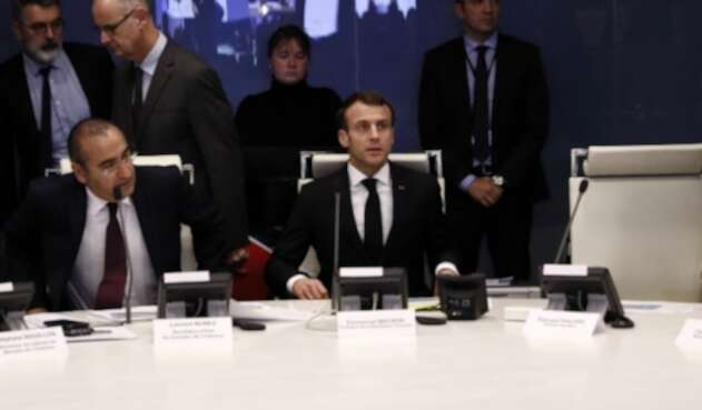 Macron presidente Francia