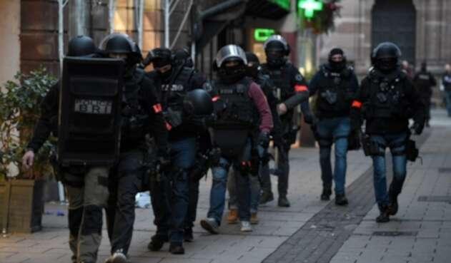 Policía Francia Estrasburgo