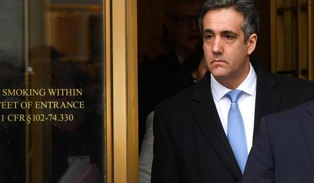 Michael Cohen, exabogado de Trump