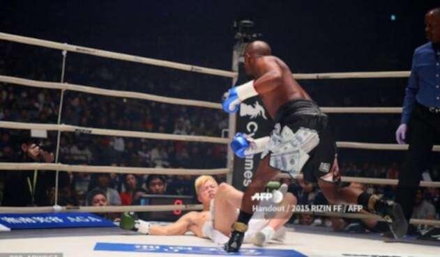 Floyd Mayweather vs Tenshin Nasukawa