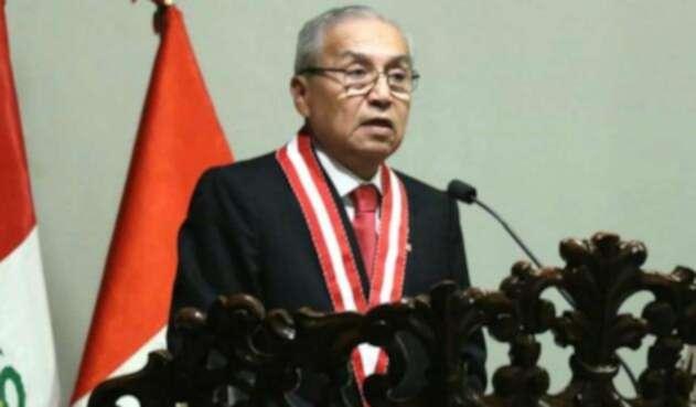 El fiscal del Perú, Pedro Gonzalo Chávarry asumió su cargo tras negar actos irregulares.