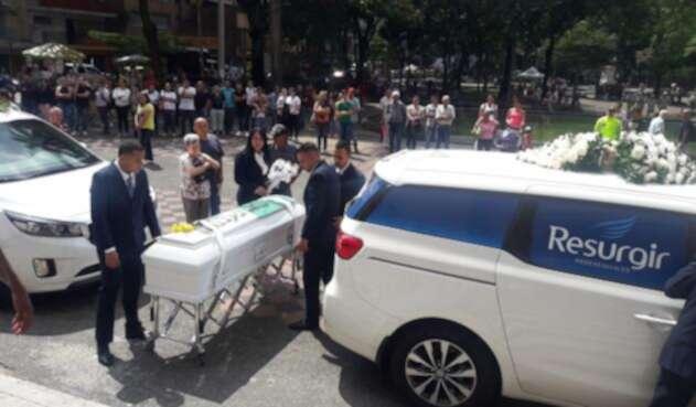 La misa fue en la Catedral Metropolitana de Medellín.