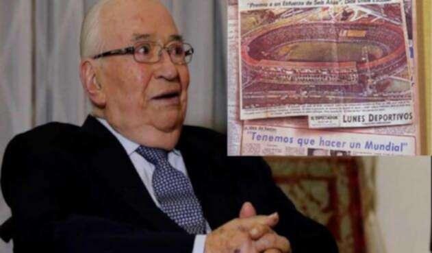 Belisario Betancur, expresidente de Colombia, le dijo que 'no' al Mundial de Fútbol