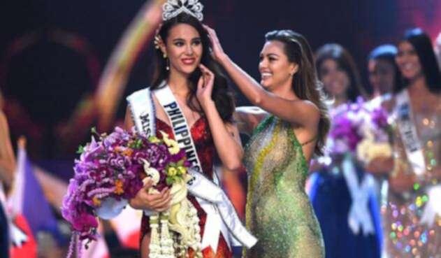 Miss Filipinas, Catriona Gray, nueva Miss Universo 2018