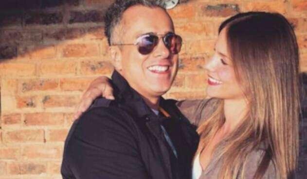 Jorge Enrique Abello y su esposa Marisabel Gutiérrez