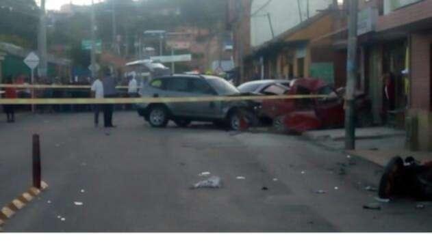 Accidente deja un muerto y seis heridos en Ubaté
