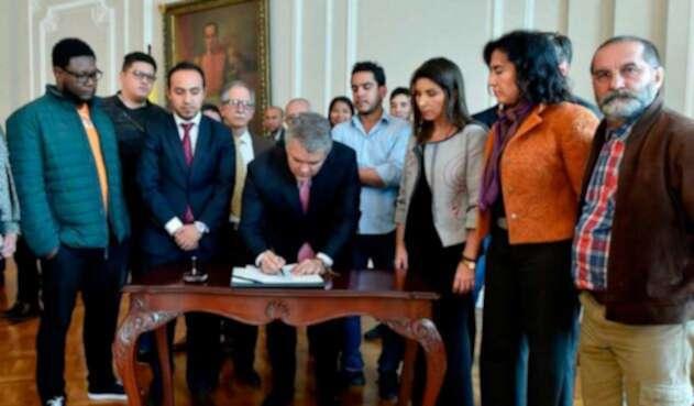 Estudiantes y Gobierno logran acuerdo para Educación Superior Pública