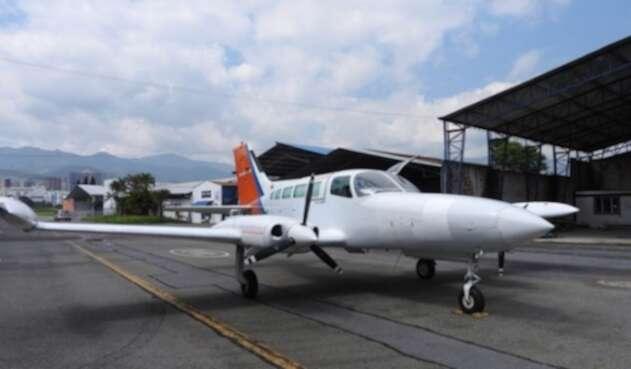 Foto referencial aeronave.