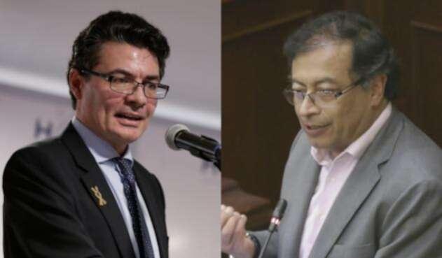Alejandro Gaviria respondió con vehemencia a polémico mensaje de Gustavo Petro.