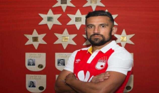 Andrés Perez, nuevo refuerzo de Independiente Santa Fe.