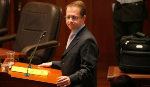 Andrés Felipe Arias, exministro de Agricultura