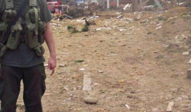 Atentando contra puesto de Policía en Tibú