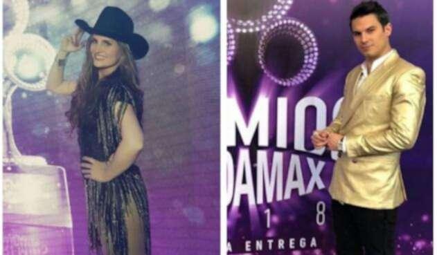 Aura Cristina Geithner y Pipe Bueno