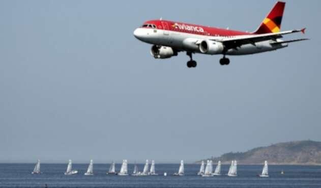 Avión de Avianca Brasil
