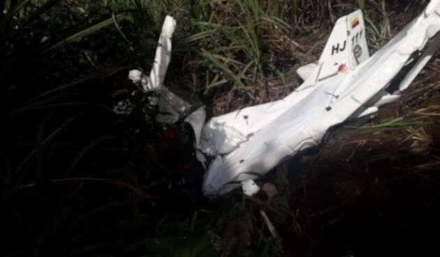Dos muertos dejó accidente de una avioneta perteneciente a la Patrulla Aérea Colombiana en Frontino, Antioquia.