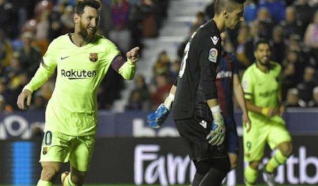 Barcelona quedó solo en la cima de La Liga con 34 unidades.