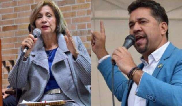 La representante de Cambio Radical Betty Zorro denunció una agresión verbal por León Freddy Muñoz de la bancada Verde.
