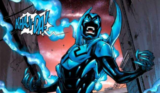 Blue Beetle, héroe que pertenece a los Teen Titans